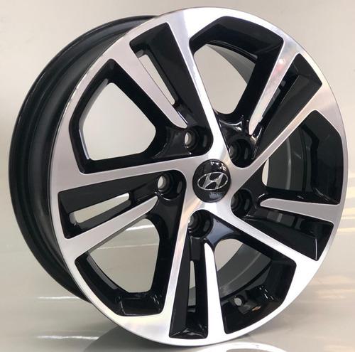 Jogo De 04 Rodas Hyundai Creta Prestige 2020 Pcd Aro16