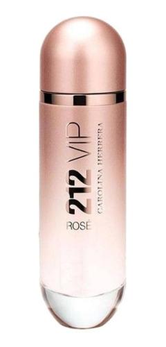 Carolina Herrera 212 Vip Rosé Edp 125ml Para Mulher