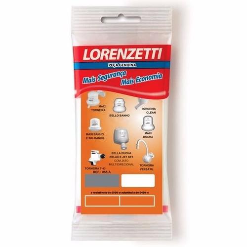 10 Un Resistência Para Chuveiros Lorenzetti Ref. 055 A 220 V Original