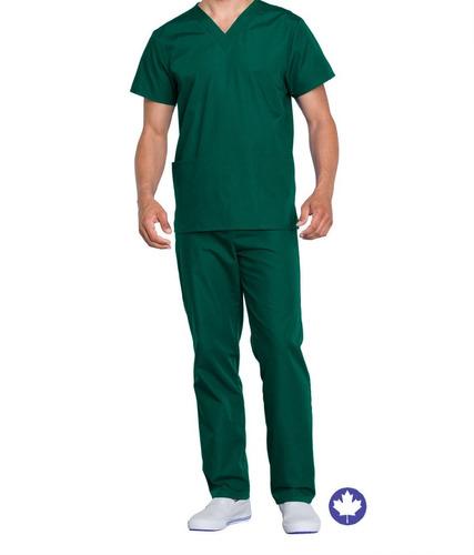 Conjunto Pijama Cirurgico Scrub Microfibra Gabardine