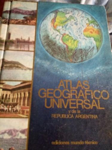 Atlas Universal Y Argentina Tapa Dura