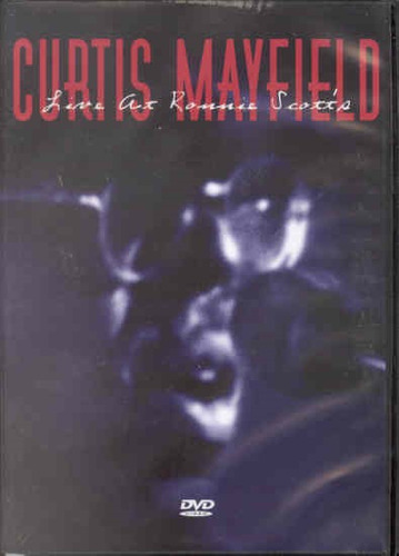Dvd Curtis Mayfield - Live At Ronnie Scotts Original