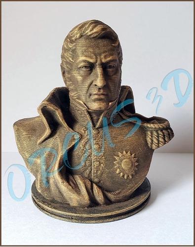 Busto San Martin 10cm Impresión 3d - La Mejor Calidad -