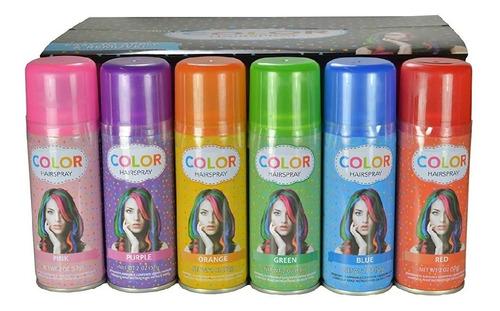 Pintura Temporal En Spray Tinte Temporal Para Niñas
