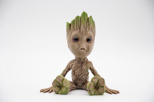 Baby Groot Sentado - 15cm - Guardianes De La Galaxia