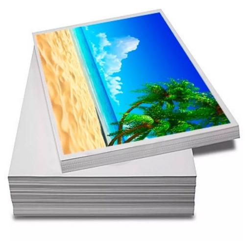 Papel Fotográfico A4 Glossy 230g  200 Folhas Premium Brilho