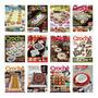 Kit 3 Revistas Crochê Casa Coleção Círculo