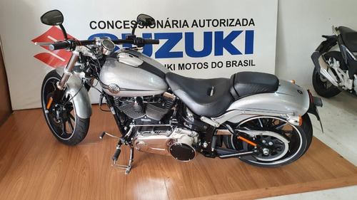 Harley Blackout 2015 Prata 11000 Km Com Escape