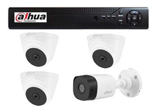 Kit Dvr 8 Canales + 4 Camaras 1080p 2mp + Accesorios - Dahua