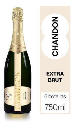 Vino Espumante Chandon Extra Brut  6 Botellas X 750ml