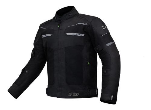 Jaqueta Moto Ventilada Motoqueiro X11 Breeze Com Proteção