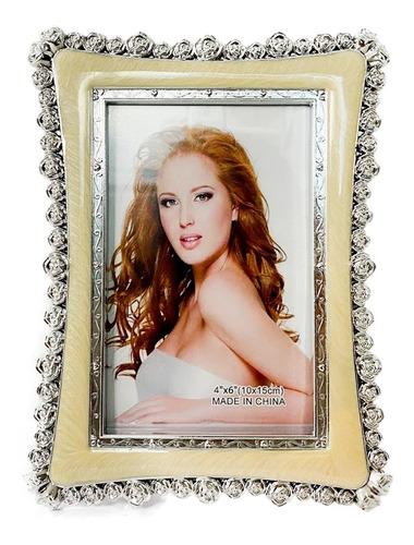 Porta Retrato 10x15cm Família Foto Amor Decoração Luxo Mesa