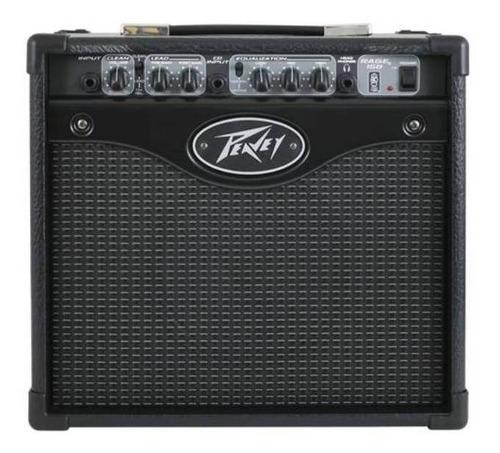 Amplificador Peavey Transtube Series Rage 158 Combo 15w Negro 220v
