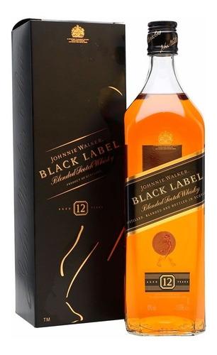 Whisky Johnnie Walker Black Negro