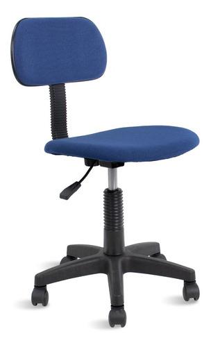 Cadeira Secretária Giratória Blake Travel Max Azul Marinho