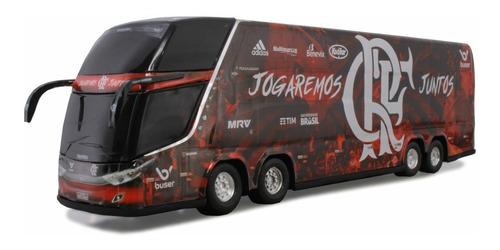 Ônibus Miniatura Clube De Regatas Do Flamengo