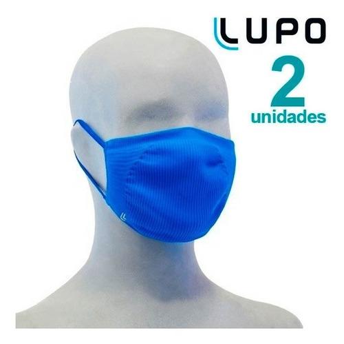Mascara Lupo Infantil Antibacteriana Envio Imediato 2 Unid