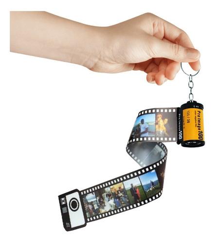 Chaveiro Filme De Foto Retrô Personalizado Presente Criativo