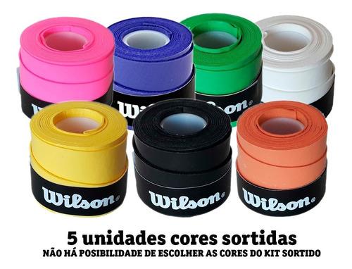 Overgrip Wilson Ultra Wrap - Conforto Todos Esportes - 5un