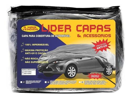 Lona Grossa Protetora Para Cobrir Carro Sem Garagem Brinde