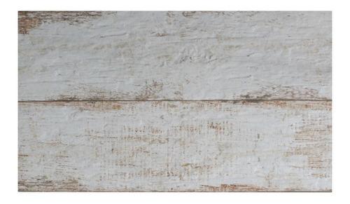 Ceramica Simil Madera Blanca Vintage 35x60  1� Cortines