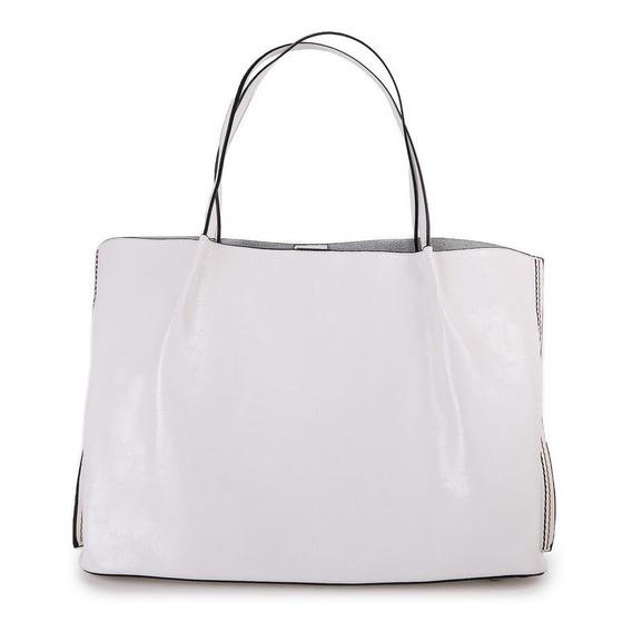 Cartera Shopper Blanca Isadora