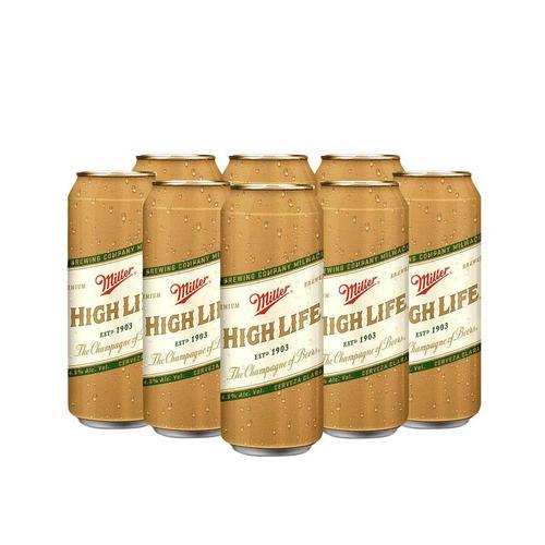 Cerveza Miller Lager Lata 710ml 12 U