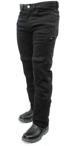 Calça Moto Jeans Com Proteção Hlx Masculina Slim