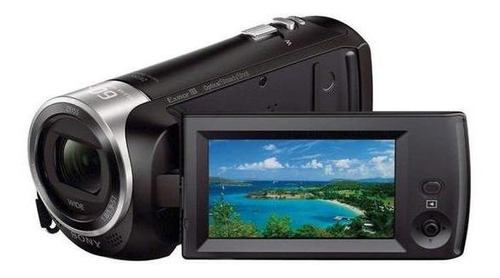Filmadora Sony Hdr cx405 . Preto