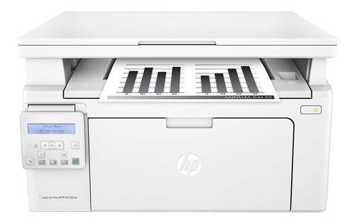 Impressora Multifuncional Hp Laserjet Pro M130nw Com Wifi 110v Branca