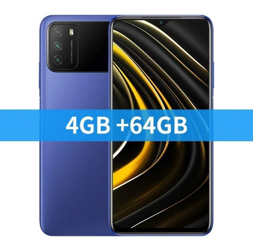 Xiaomi Poco M3 64 Gb + Case + 2 Películas