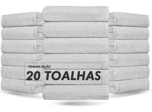Kit 20 - Toalhas De Rosto Para Salão - Profiline- Promoção