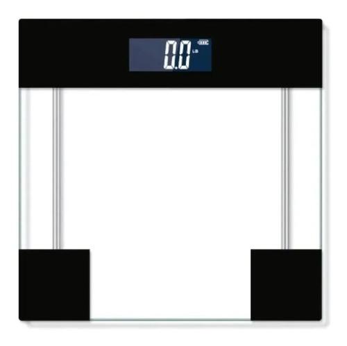 Balanza De Baño Digital Kjh-p2004 Kanji Vidrio 180kg Negra