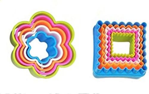 1 Set Cortadores Plásticos Para Galletas. Precio Por Figura