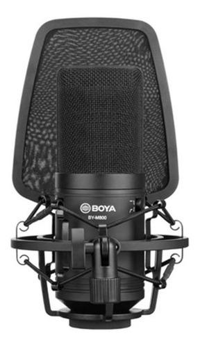 Micrófono Boya By-m800 Condensador Cardioide Negro