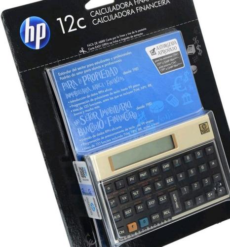 Calculadora Financeira Hp 12c Gold Nova Original Lacrada