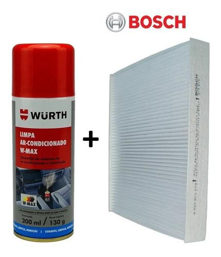 Filtro Ar Condicionado Bosch Spray Higienizador Wurth