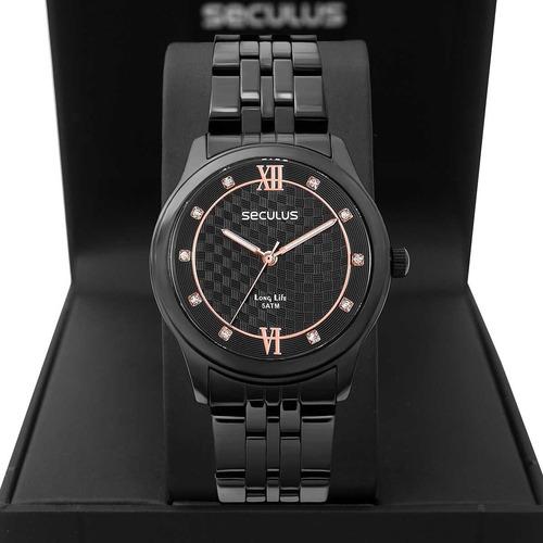 Relógio Feminino Seculus Long Life 35025lpsvpa3