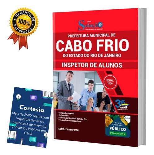 Apostila Concurso Cabo Frio Rj Inspetor De Alunos