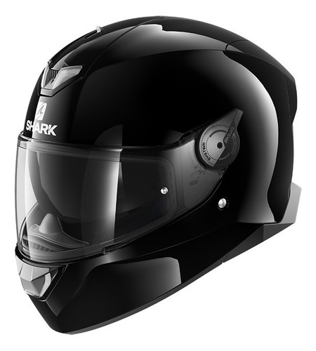 Casco Para Moto Integral Shark Skwal 2 Blank Black Talle M