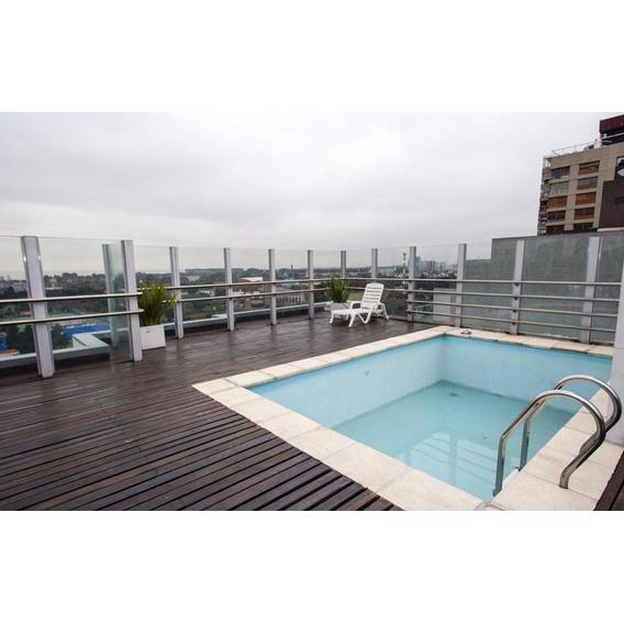 2 Ambientes Amplios En Nuñez, Seguridad 24 Hs, Amenities, Piso Alto Suite Y Vestidor.