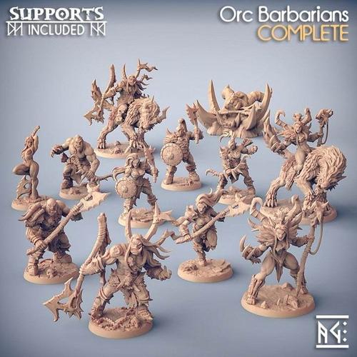 Miniaturas Para Pintar Orc Set 1