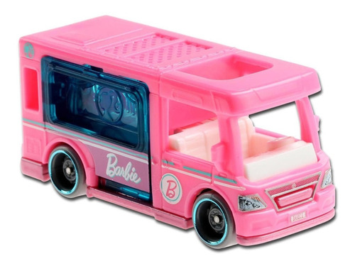 Hot Wheels 2021 Barbie Dream Camper Hw Getaways 1/5 Miniatur