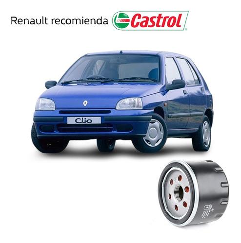 Service Cambio Aceite + Filtro Renault Clio 1.9 F8q Forfait