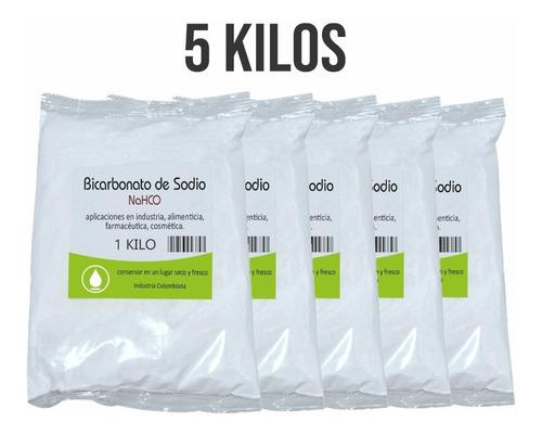 Bicarbonato De Sodio 5 Kilos