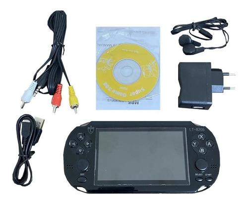 Mini Video Game Portátil - Lt8205 16gb Com 10000 Jogos
