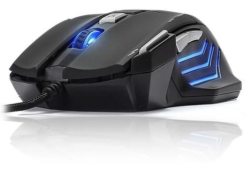 Mouse Gamer 3200 Dpi Profissional Led Usb 7 Botões Jogos Pc