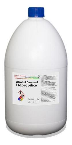 Alcohol Isopropilico 99.5% 3.5 Lt.