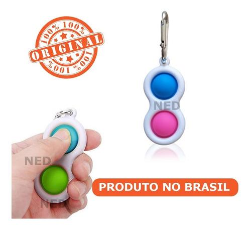 Simple Dimple Fidget Toy Anti Stress Chaveiro Pop It Alivio