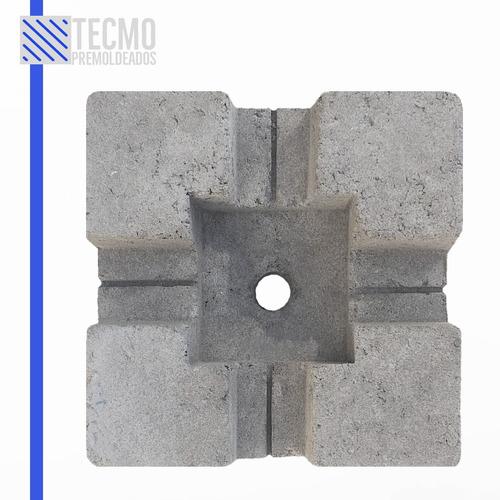Base Deck De Cemento - Base De Hormigón - Deck Block